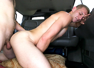 Gorgeous Day For Anal Sex On The Baitbus!