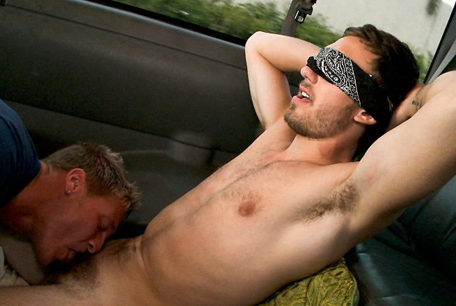 Bait bus gay texan jake taylor gets straight johnny to fuck his ass