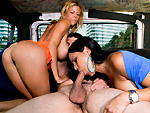 Pic of Alexis Fawx in bangbus episode: Porn-Stars Invade The Bangbus