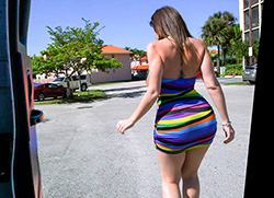 bangbus: Sara Jay's Huge Ass Fucked On The BangBus In Miami!