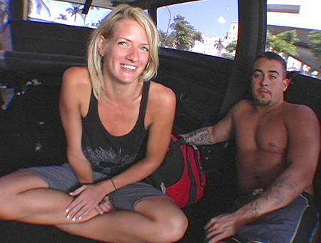 Homeless Girls Have More Fun. Bang Bus