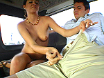 bangbus: Innocent student till P.P. hit it!