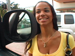 Pic of laylani in bangbus episode: Another day on the bus...