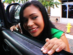 Pic of Angelina in bangbus episode: Riding Isabella's Big Ass