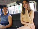 Pic of Dakoda Brookes in bangbus episode: Cruising on Dakota's Pussy
