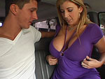 Pic of Sara Jay in bangbus episode: Cock Hungry SaraJay