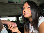 Pic of Canela Spice in bangbus episode: Canela Gets Shagged