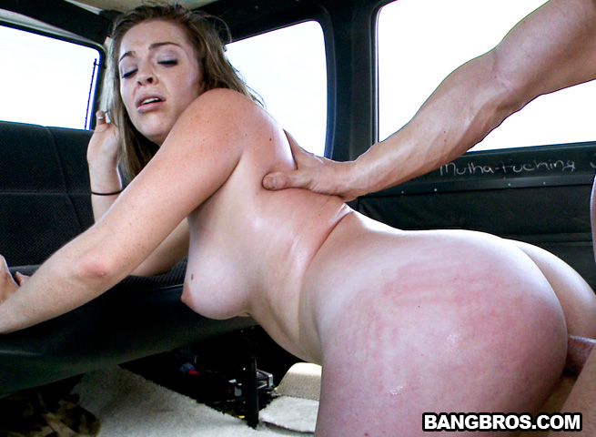 Anal on the bangbus