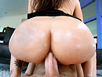Pic of Raylene in bigtitcreampie episode: Her first cream pie