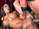bigtitcreampie: Busty Dominatrix Receives Creampie In Her Dungeon