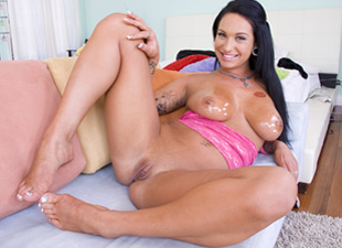 Kitty Bella cream pies video from Big Tit Cream Pie