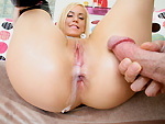 bigtitcreampie: Anal Queen Loves a Creampie
