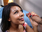 Pic of Zoey Reyes in brownbunnies episode: Zoey Reyes jumps on dick until she cums