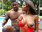brownbunnies: Ebony Lola Gets Stepbro Dick