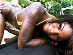 Pic of Tatiyana Foxx in brownbunnies episode: Protein With A Smile