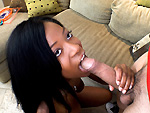 brownbunnies: Sexy Black Girl Gets White Dick