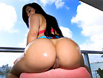 Pic of Valerie Kay in chongas episode: Latina Valerie Kay Gets Wild In Public