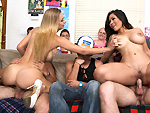 dorminvasion: Fucking Porn-Stars At A Dorm Party