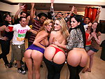 Pic of Victoria Voss in dorminvasion episode: College Sex Bangbros Style
