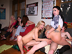 Pic of Alexis Fawx in dorminvasion episode: Sorority Party Bang-Style