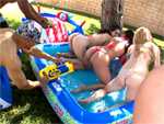 Pic of Ally Ann in fuckteamfive episode: Summer time fun