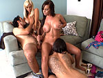 Pic of Fuckteamfive in Pizza and Cream! w/Emily Parker, Jessica Lynn & Brandy Aniston