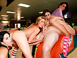 fuckteamfive: Dirty sex at the bowling alley
