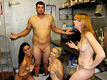 Pic of Fuckteamfive in The Cook Is In The Pussy w/ Tiffany Brookes, Stevie Shae, & Marie McCray
