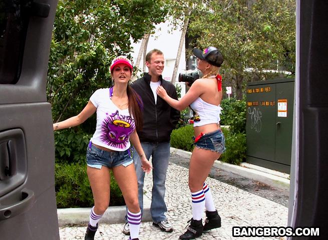 double fun at the bang bus