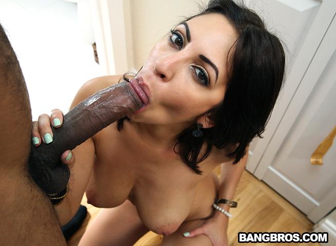 latina big natural tits take some black dick