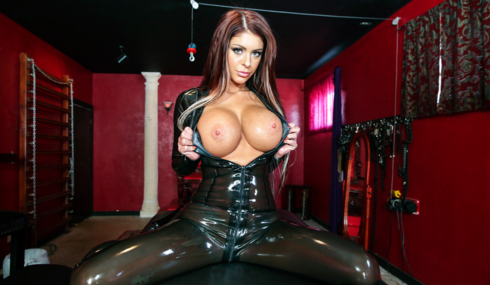 Busty dominatrix