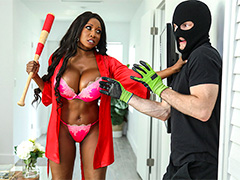 Diamond Jackson Protects Her Home